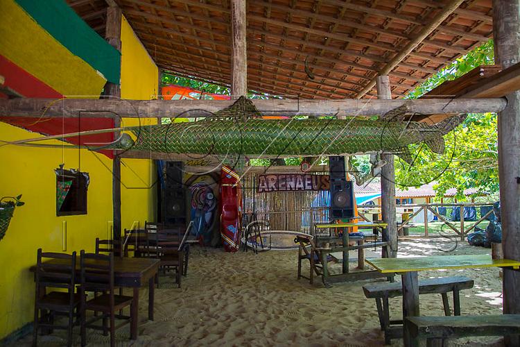 Quiosque na Praia do Sono, Paraty - RJ, 01/2016.