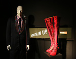 'Jersey Boys' and 'Kinky Boots' costumes at Curtain Up: Celebrating the Last 40 Years of Theatre in New York and London Exhibition on June 14, 2017 at the New York Public Library for the Performing Arts at Lincoln Center.