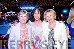 Bridie and Mags O'Sullivan with Peggy King, all from Tralee, pictured at the Austin Stacks Strictly Come Dancing held in the Dome, Tralee on Saturday night