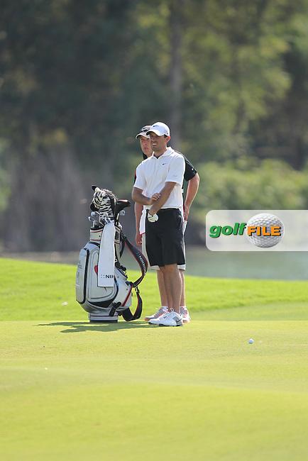 Charl Schwartzel (RSA) during round 3 of the Turkish Airlines World Golf Final in Antalya Golf Club, Antalya, Turkey..Picture: Fran Caffrey/www.golffile.ie.