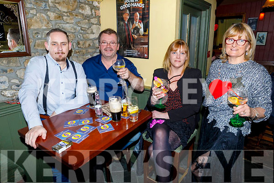 Enjoying the Braces and Garters' Fun Night in Bettys Bar on Friday night.<br /> L  to r: Alan Murphy, Paul and Caroline Clapham and Mary Gaine.