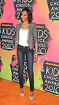 LOS ANGELES, CA. - March 27: Zoe Saldana arrive at Nickelodeon's 23rd Annual Kid's Choice Awards at Pauley Pavilion on March 27, 2010 in Los Angeles, California.