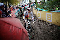 British Champion Ian Field (GBR/Hargroves Cycles)<br /> <br /> Superprestige Gavere 2014