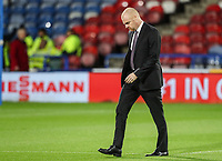 Burnley's manager Sean Dyche inspecting the pitch before the match<br /> <br /> Photographer Andrew Kearns/CameraSport<br /> <br /> The Premier League - Huddersfield Town v Burnley - Wednesday 2nd January 2019 - John Smith's Stadium - Huddersfield<br /> <br /> World Copyright © 2019 CameraSport. All rights reserved. 43 Linden Ave. Countesthorpe. Leicester. England. LE8 5PG - Tel: +44 (0) 116 277 4147 - admin@camerasport.com - www.camerasport.com