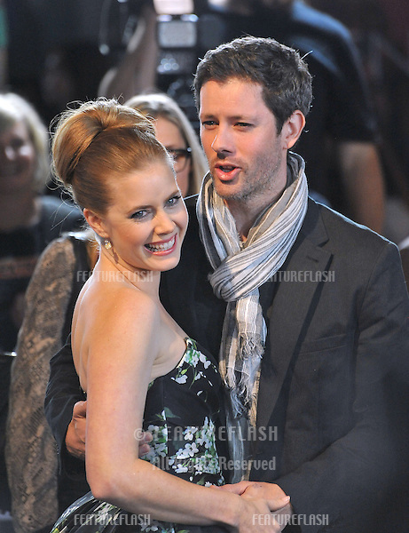 "Amy Adams & fiancé Darren Le Gallo at the AFI Fest premiere of her movie ""On The Road"" at Grauman's Chinese Theatre, Hollywood..November 3, 2012  Los Angeles, CA.Picture: Paul Smith / Featureflash"