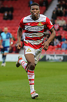 Riccardo Calder of Doncaster Rovers during the Sky Bet League 2 match between Doncaster Rovers and Wycombe Wanderers at the Keepmoat Stadium, Doncaster, England on 29 October 2016. Photo by David Horn.