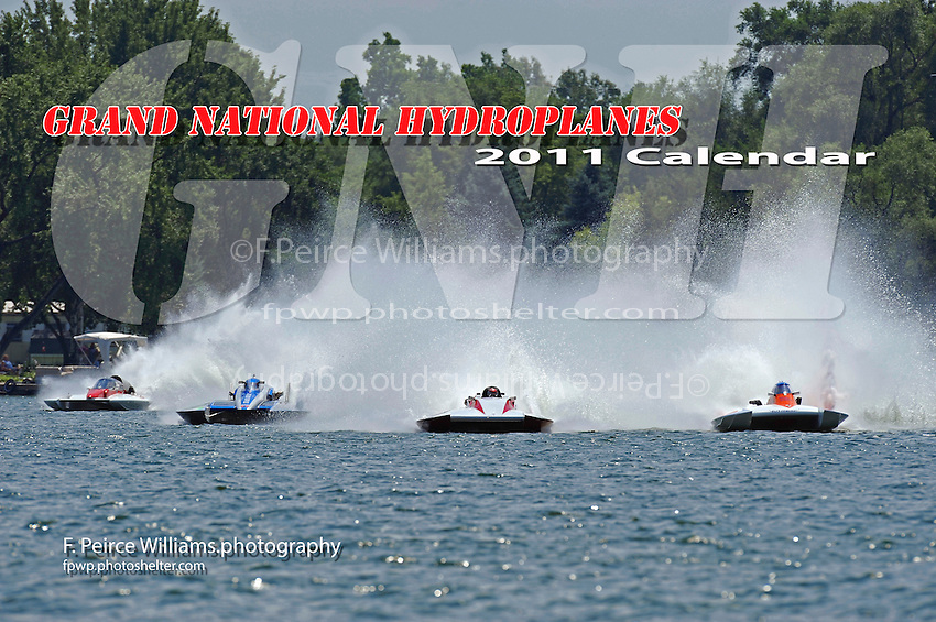 "(L to R): David Archiable, GNH-33 ""The Tennesean"", Patrick Sankuer, Jr., GNH-1 ""Showtime Racing"", Steve Kuhr, Jr., ""Deel Me In"" GNH-8 and Joe Kreitzer, GNH-515 ""One Way"" (Grand National Hydroplane(s)"