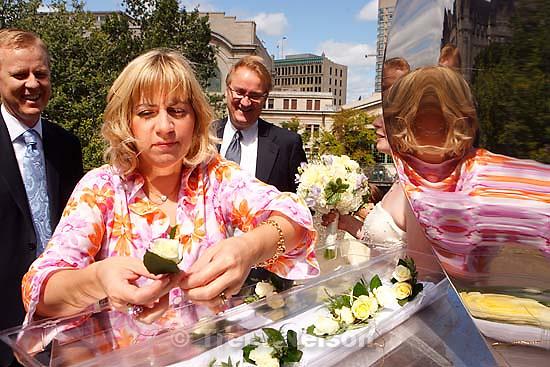 elizabeth wilde sanford reflected. Ottawa - Bergen Wilde, Anastasia's wedding; 8.18.2007. marshall wilde