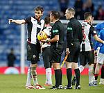 02.02.2019: Rangers v St Mirren: Greg Tansey and Andrew Dallas