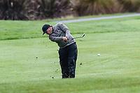 Sam Nichols of Manawatu/Wanganui, Toro New Zealand Mens Interprovincial Tournament, Clearwater Golf Club, Christchurch, New Zealand, 26th November 2018. Photo:John Davidson/www.bwmedia.co.nz