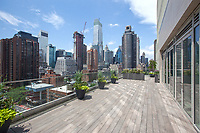 Roof Deck at 301 East 61st Street