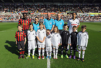 Pictured: Sunday, 11 March 2012<br /> Re: Premier League football, Swansea City FC v Manchester City at the Liberty Stadium, south Wales.