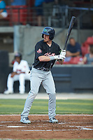 Connor Capel (11) of the Lynchburg Hillcats at bat during the 2018 Carolina League All-Star Classic at Five County Stadium on June 19, 2018 in Zebulon, North Carolina. The South All-Stars defeated the North All-Stars 7-6.  (Brian Westerholt/Four Seam Images)