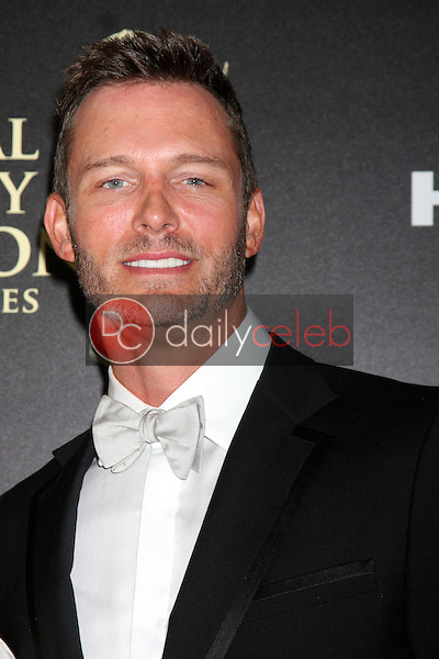 LOS ANGELES - JUN 22:  Eric Martsolf at the 2014 Daytime Emmy Awards Arrivals at the Beverly Hilton Hotel on June 22, 2014 in Beverly Hills, CA