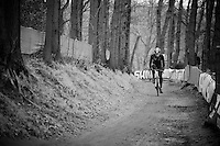 Sven Nys (BEL/Crelan-AAdrinks) at recon<br /> <br /> Grand Prix Adrie van der Poel, Hoogerheide 2016<br /> UCI CX World Cup