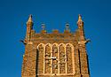 Exteriors of the Clocktower during golden hour.
