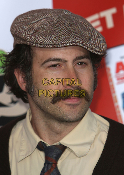 "JASON LEE .""Alvin And The Chipmunks"" DVD Release Party held at the El Rey Theater, Hollywood, California, USA, .27 March 2006 .portrait headshot cap hat moustache .CAP/ADM/`CH.©Charles Harris/Admedia/Capital PIctures"