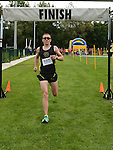 Aongus Rooney from Dunleer AC who won the St Colmcille's Meath Coast Rehab 10k run. Photo:Colin Bell/pressphotos.ie