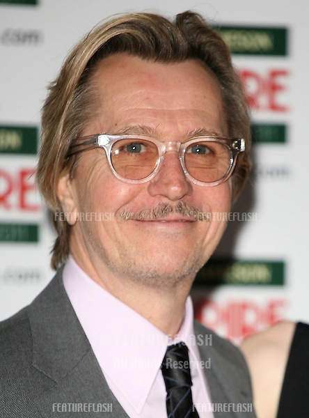 Gary Oldman arriving for the Jameson Empire Awards 2011, Grosvenor House Hotel, London. 27/03/2011  Picture by: Alexandra Glen / Featureflash