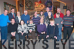 Residents of Mount Eagle Lodge,Oakpark,Tralee who are treated annually to a Christmas evening of music,dance&song by Tralee Lyons Club last Monday in Kirby's Brogue,Rock St,Tralee(seated)L-R Patrick Doody,Kathleen O'Callighan,JJ O'Shea,Fergus Moriarty and Emmert O'Connor(Back)L-R Sylvester O'Shea,Pat Crean(President TLC)Angela Stephson,Eugene O'Sullivan,Martin Foley,Marie Kirby,Eddie McCarthy,Kathleen Shanahan,Finbar O'Connell,Noreen Enright and Eamonn Edgeword.