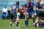 NELSON, NEW ZEALAND - September 30: Rep Rugby Tasman U18 v Canterbury Metro U18, September 30, 2017, Trafalgar Park, Nelson, New Zealand. (Photo by: Barry Whitnall Shuttersport Limited)
