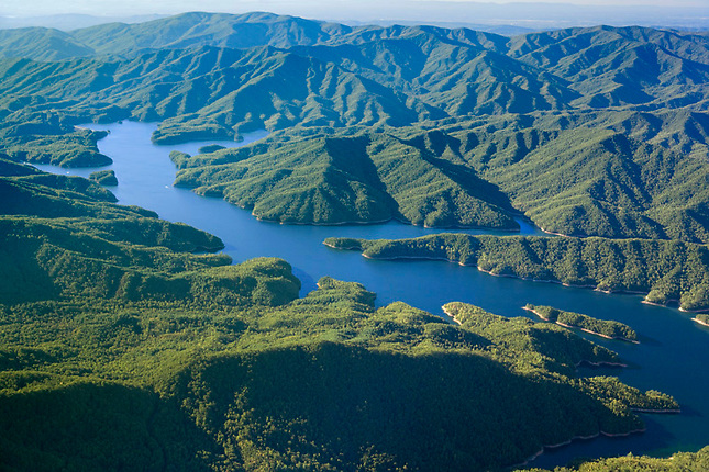 Fontana Lake and Great Smoky Mountains National Park