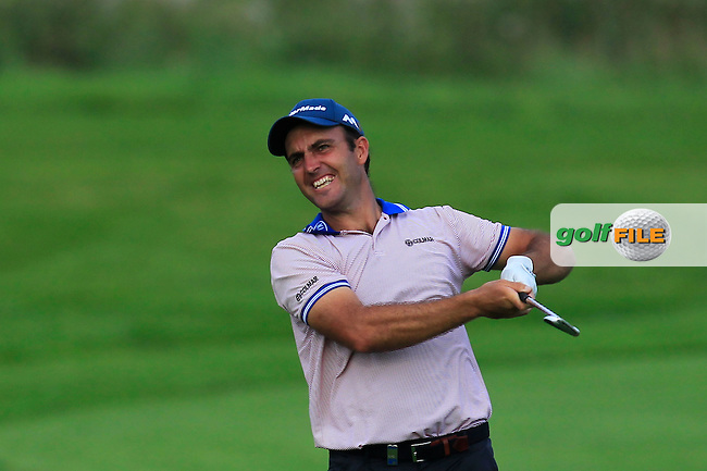 Edward Molinari (ITA) on the 6th fairway during Round 1 of the Made in Denmark 2016 at the Himmerland Golf Resort, Farso, Denmark on Thursday 25th August 2016.<br /> Picture:  Thos Caffrey / www.golffile.ie<br /> <br /> All photos usage must carry mandatory copyright credit   (&copy; Golffile | Thos Caffrey)