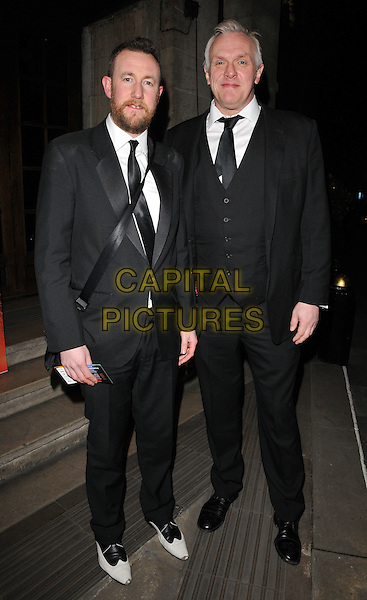 guest &amp; Greg Davies attend the Broadcast Awards 2016, Grosvenor House Hotel, Park Lane, London, UK, on Wednesday 10 February 2016.<br /> CAP/CAN<br /> &copy;Can Nguyen/Capital Pictures