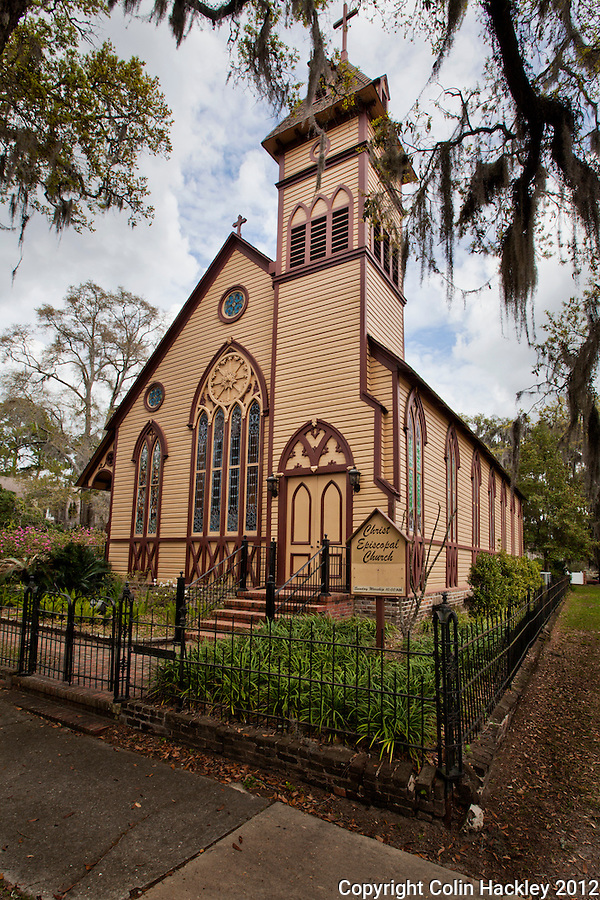 CHRIST EPISCOPAL CHURCH: Built in 1885 the church on Jefferson Street features a classical revival architectural style that departs from the norm for Episcopal churches of the era..SOURCE: Historic Jefferson County Walking Tour Brochure.COLIN HACKLEY PHOTO
