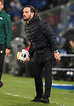 Getafe CF's coach Jose Bordalas during UEFA Europa League match. December 12,2019. (ALTERPHOTOS/Acero)