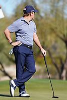 Doc Redman (USA) In action during the final round of the Waste Management Phoenix Open, TPC Scottsdale, Phoenix, Arizona, USA. 01/02/2020<br /> Picture: Golffile | Phil INGLIS<br /> <br /> <br /> All photo usage must carry mandatory copyright credit (© Golffile | Phil Inglis)