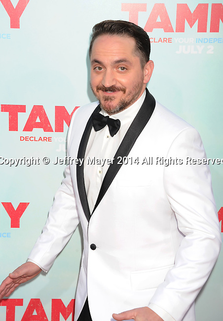 HOLLYWOOD, CA- JUNE 30: Director/writer/executive producer Ben Falcone arrives at the 'Tammy' - Los Angeles Premiere at TCL Chinese Theatre on June 30, 2014 in Hollywood, California.