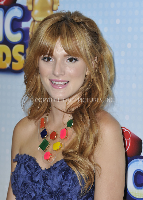 WWW.ACEPIXS.COM....April 27 2013, LA....Bella Thorne arriving at the 2013 Radio Disney Music Awards at the Nokia Theatre L.A. Live on April 27, 2013 in Los Angeles, California...........By Line: Peter West/ACE Pictures......ACE Pictures, Inc...tel: 646 769 0430..Email: info@acepixs.com..www.acepixs.com