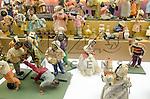 Presépio Gruta Napolitana, Giuseppe Gori e Lorenzo Mosca, século XVIII, Itália. Acervo do Museu de Arte Sacra de São Paulo, São Paulo - SP, 02/2012