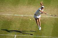 Caroline Wozniacki (DEN) (9) against  Maria Kirilenko (RUS)  in the second round of the ladies singles. Wozniacki beat Kirilenko 6-0 6-4..Tennis - Wimbledon - Day 4 - Thur 25th June 2009 - All England Lawn Tennis Club  - Wimbledon - London - United Kingdom..Frey Images, Barry House, 20-22 Worple Road, London, SW19 4DH.Tel - +44 20 8947 0100.Cell - +44 7843 383 012