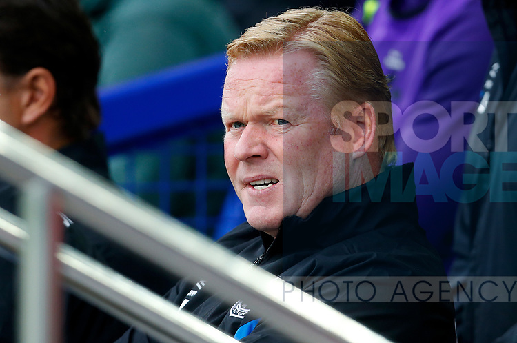 Everton's Manager Ronald Koeman before the pre season friendly match at Goodison Park Stadium, Liverpool. Picture date 6th August 2017. Picture credit should read: Paul Thomas/Sportimage