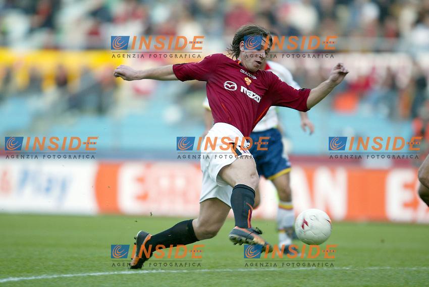 Roma 30/11/2003 <br /> Roma Lecce 3-1<br /> Antonio CASSANO <br /> Foto Andrea Staccioli Insidefoto