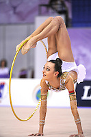 September 23, 2014 - Izmir, Turkey -  ARINA CHAROPA of Belarus performs at 2014 World Championships.