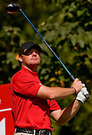 Alex Cejka of Germany in action during the 54th Omega Mission Hills World Cup of Golf on November 29, 2008 in Shenzhen, China. Photo by Victor Fraile
