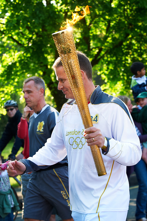 The 2012 Olympic torch was carried through Bristol on May 23, 2012