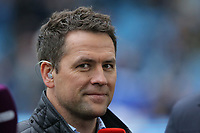 Former footballer Michael Owen speaks to BT Sport during The Emirates FA Cup Fifth Round match between Sheffield Wednesday and Swansea City at Hillsborough, Sheffield, England, UK. Saturday 17 February 2018