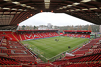 A general view of The Valley, home of Charlton Athletic FC<br /> <br /> Photographer David Shipman/CameraSport<br /> <br /> The EFL Sky Bet League One - Charlton Athletic v Blackpool - Saturday 16th February 2019 - The Valley - London<br /> <br /> World Copyright © 2019 CameraSport. All rights reserved. 43 Linden Ave. Countesthorpe. Leicester. England. LE8 5PG - Tel: +44 (0) 116 277 4147 - admin@camerasport.com - www.camerasport.com