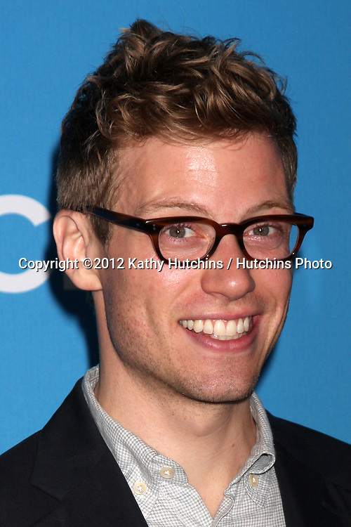 LOS ANGELES - SEP 15:  Barrett Foa arrives at the CBS 2012 Fall Premiere Party at Greystone Manor on September 15, 2012 in Los Angeles, CA