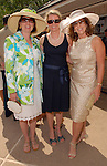 Stephanie Eugster, Diane Modesett and Cherie Flores at the River Oaks International Tennis Tournament Luncheon at the River Oaks Country Club Wednesday April 16,2008. (Dave Rossman/For the Chronicle)