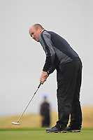 Joe Lyons (Galway) on the 17th green during the Connacht Semi-Final of the AIG Barton Shield at Galway Bay Golf Club, Galway, Co Galway. 11/08/2017<br /> Picture: Golffile | Thos Caffrey<br /> <br /> <br /> All photo usage must carry mandatory copyright credit     (&copy; Golffile | Thos Caffrey)