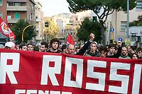 Roma 30  Settembre 2010.Manifestazione in ricordo di Walter Rossi ucciso dai fascisti il 30 Settembre 1977.Rome September 30, 2010.Manifestation in memory of Walter Rossi, killed by the fascists the September 30, 1977.