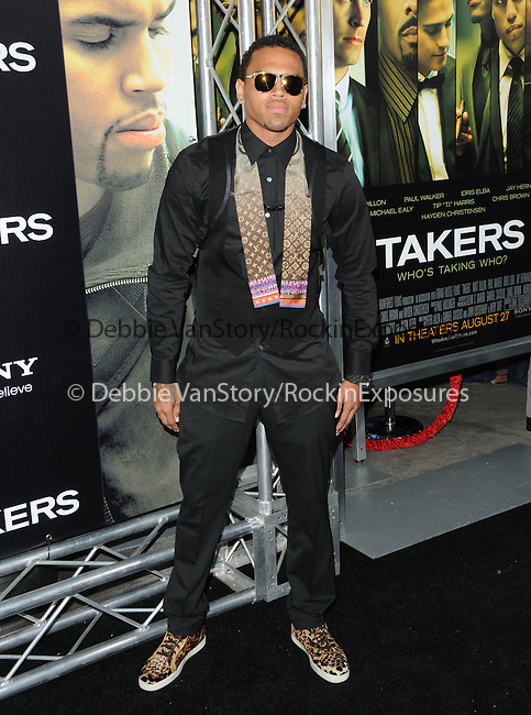Chris Brown at the Screen Gems' World Premiere of Takers held at The Arclight Theatre in Hollywood, California on August 04,2010                                                                               © 2010 Debbie VanStory / Hollywood Press Agency