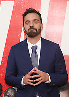 WESTWOOD, CA - JUNE 07: Actor Jake Johnson arrives for the Premiere Of Warner Bros. Pictures And New Line Cinema's 'Tag' held at Regency Village Theatre on June 7, 2018 in Westwood, California. <br /> CAP/ADM/FS<br /> &copy;FS/ADM/Capital Pictures