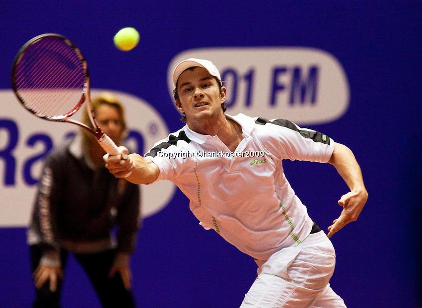 11-12-09, Rotterdam, Tennis, REAAL Tennis Masters 2009,   Antal van der Duim