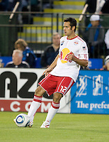 Mike Petke of Red Bulls in action during the game against the Earthquakes at Buck Shaw Stadium in Santa Clara, California.  San Jose Earthquakes defeated New York Red Bulls, 4-0.